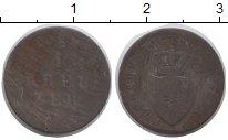 Изображение Монеты Гессен-Дармштадт 1 крейцер 0 Серебро F Людвиг II