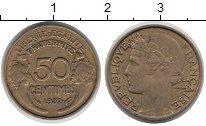 Изображение Монеты Франция 50 сантим 1932 Латунь XF