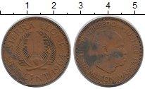 Изображение Монеты Сьерра-Леоне 1 цент 1964 Бронза XF-