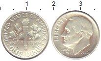 Изображение Монеты США 1 дайм 1946 Серебро XF- Теодор  Рузвельт