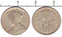 Изображение Монеты Родезия 3 пенса 1935 Серебро VF