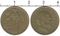 Изображение Монеты Монако 10 сантимов 1968 Латунь XF
