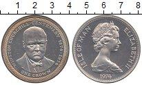 Изображение Монеты Остров Мэн 1 крона 1974 Серебро Proof-