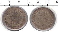 Изображение Монеты Вестфалия 20 сентим 1810 Серебро VF