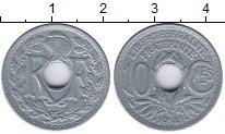 Изображение Монеты Франция 10 сантимов 1941 Цинк XF