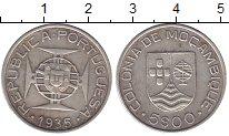 Изображение Монеты Мозамбик 5 эскудо 1935 Серебро XF Колония  Португалии