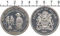 Изображение Монеты Малави 20 квач 1997 Серебро Proof-