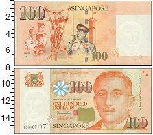 Изображение Банкноты Сингапур 100 долларов 1999  UNC