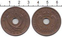 Изображение Монеты Восточная Африка 10 центов 1943 Бронза XF