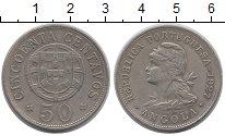 Изображение Монеты Ангола 50 сентаво 1927 Медно-никель XF