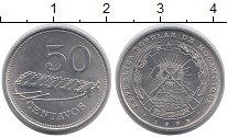 Изображение Монеты Мозамбик 50 сентаво 1982 Алюминий UNC- Ксилофон
