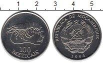 Изображение Мелочь Мозамбик 100 метикаль 1994 Медно-никель XF+