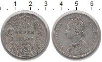 Изображение Монеты Индия 1 рупия 1884 Серебро XF Виктория
