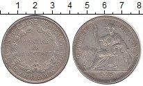 Изображение Монеты Индокитай 1 пиастр 1926 Серебро XF