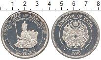 Изображение Монеты Тонга 1 паанга 1996 Серебро Proof-
