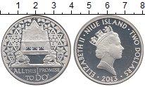 Изображение Монеты Ниуэ 2 доллара 2013 Серебро Proof-