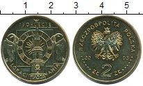 Изображение Монеты Польша 2 злотых 2003 Латунь UNC-