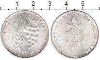 Изображение Монеты Ватикан 500 лир 1974 Серебро UNC
