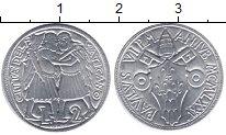 Изображение Монеты Ватикан 2 лиры 1975 Алюминий XF
