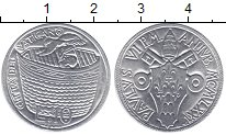 Изображение Монеты Ватикан 10 лир 1975 Алюминий XF