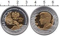 Изображение Монеты Польша 10 злотых 2009 Серебро Proof 65  лет  Варшавского