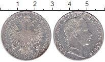 Изображение Монеты Австрия 1 флорин 1860 Серебро XF Франц Иосиф I