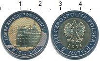 Изображение Монеты Польша 5 злотых 2016 Биметалл UNC-