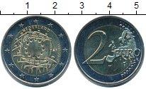 Монета Нидерланды 2 евро Биметалл 2015 UNC- фото