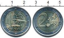 Изображение Монеты Италия 2 евро 2009 Биметалл UNC-