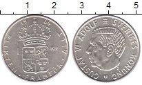 Изображение Монеты Швеция 1 крона 1964 Серебро UNC-