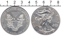 Изображение Монеты США 1 доллар 2012 Серебро UNC