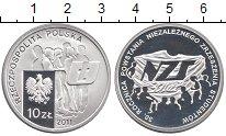 Изображение Монеты Польша 10 злотых 2011 Серебро Proof
