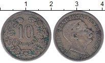 Изображение Монеты Люксембург 10 сантим 1901 Медно-никель XF-