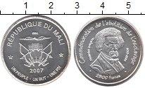 Изображение Монеты Мали 2500 франков 2007 Серебро UNC