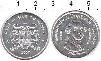 Изображение Монеты Бенин 2.500 франков 2007 Серебро UNC Освобождение  от  ра