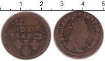 Изображение Монеты Франция 1 лиард 1656 Медь VF
