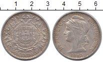Изображение Монеты Португалия 50 сентаво 1913 Серебро XF