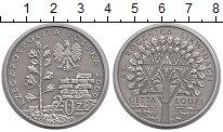 Изображение Монеты Польша 20 злотых 2009 Серебро UNC