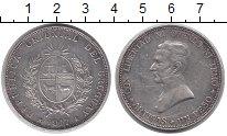 Изображение Монеты Уругвай 1 песо 1917 Серебро XF-