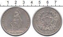 Изображение Монеты Швейцария 5 франков 1872 Серебро XF