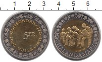 Изображение Монеты Швейцария 5 франков 2003 Биметалл UNC- Танец