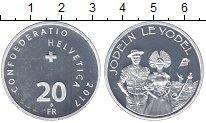 Изображение Монеты Швейцария 20 франков 2017 Серебро UNC