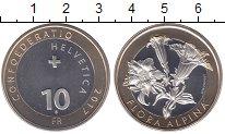 Изображение Монеты Швейцария 10 франков 2017 Биметалл UNC
