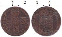 Изображение Монеты Нидерланды 1 лиард 1692 Медь XF- Австрийские Нидерлан