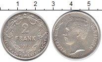 Изображение Монеты Бельгия 2 франка 1912 Серебро XF