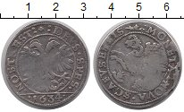 Изображение Монеты Швейцария Шаффхаузен 1 диккен 1634 Серебро VF