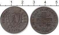 Изображение Монеты Швейцария Базель 1 батзен 1826 Серебро XF