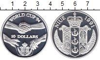 Изображение Монеты Новая Зеландия Ниуэ 10 долларов 1991 Серебро Proof