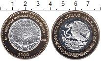 Изображение Монеты Мексика 100 песо 2013 Серебро Proof