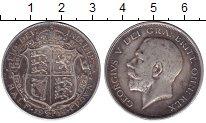 Изображение Монеты Великобритания 1/2 кроны 1914 Серебро XF